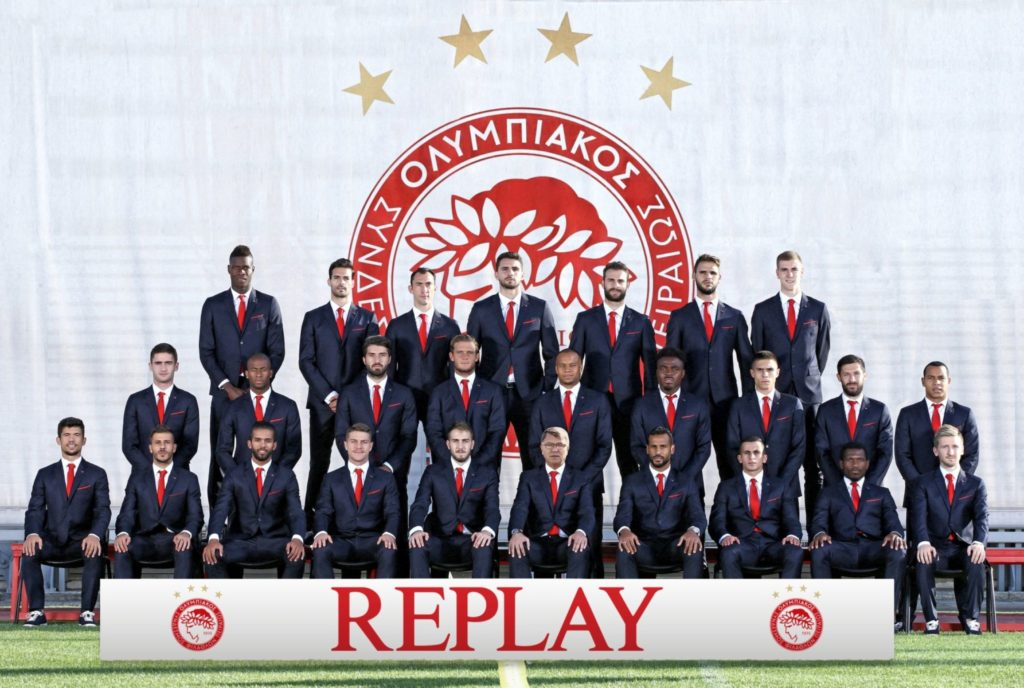 REPLAY for OLYMPIACOS_team photo.