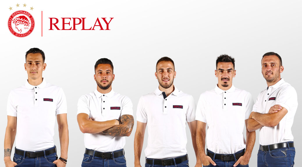 OLYMPIACOS FC COOPERATION WITH REPLAY JEANS CONTINUES