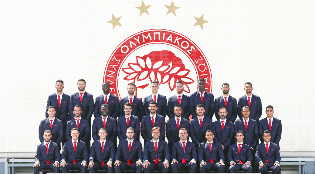 OLYMPIACOS WEAR REPLAY FOR THE 3rd YEAR!